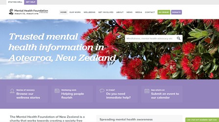 Mental Health Foundation Website