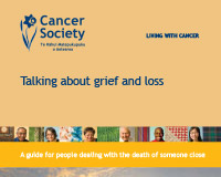 Talking about grief and loss